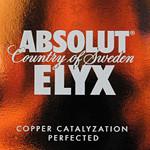 Absolut ELYX — премиальная водка изготовленная вручную