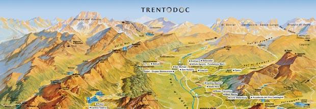 Тренто Док (TrentoDOC) - винодельческий регион на севере Италии