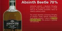 Absinth Beetle - и выпить и закусить