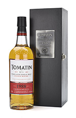 Винтажный односолодовый виски Tomatin 1988