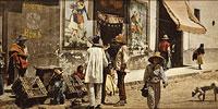 Магазин с пульке в Такубайе, конец 19 века