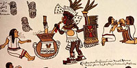 Ацтеки, пьющие пульке