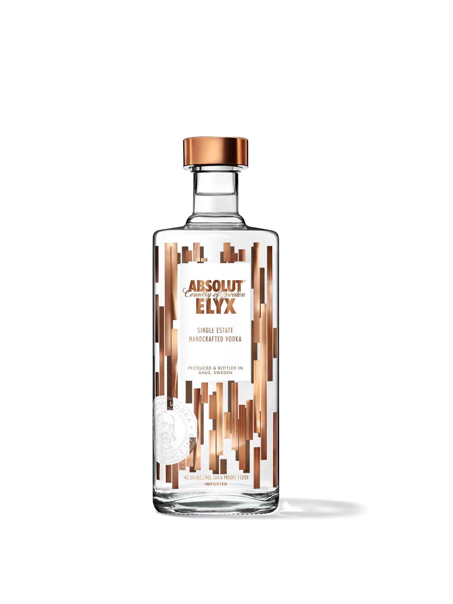 Absolut ELYX - премиальная водка изготовленная вручную