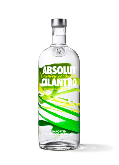 ABSOLUT Cilantro - водка с ароматом кориандра и лайма